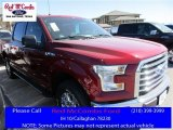 2016 Ruby Red Ford F150 XLT SuperCrew 4x4 #110729464