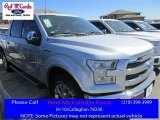 2016 Ingot Silver Ford F150 Lariat SuperCrew 4x4 #110729463
