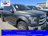 2016 Magnetic Ford F150 Lariat SuperCrew 4x4 #110729461