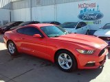 2016 Competition Orange Ford Mustang V6 Coupe #110754552