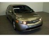 2007 Galaxy Gray Metallic Honda Civic EX Sedan #11047219