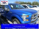 2016 Blue Flame Ford F150 XLT SuperCrew #110754542