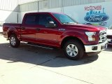 2015 Ruby Red Metallic Ford F150 XLT SuperCrew #110754537