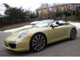 2013 Porsche 911 Lime Gold Metallic