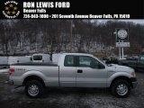 2014 Ingot Silver Ford F150 XL SuperCab 4x4 #110754603