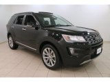 2016 Shadow Black Ford Explorer Limited 4WD #110754803