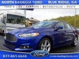 2016 Deep Impact Blue Metallic Ford Fusion S #110780765