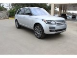 2016 Indus Silver Metallic Land Rover Range Rover Supercharged LWB #110799406