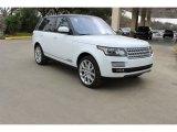 2016 Fuji White Land Rover Range Rover HSE #110799402