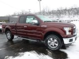 2016 Bronze Fire Ford F150 Lariat SuperCab 4x4 #110804175