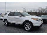 2011 White Platinum Tri-Coat Ford Explorer Limited #110804186