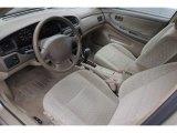 2000 Nissan Altima Interiors