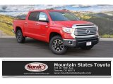 2016 Radiant Red Toyota Tundra Limited CrewMax 4x4 #110816590