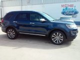 2016 Blue Jeans Metallic Ford Explorer Platinum 4WD #110839098