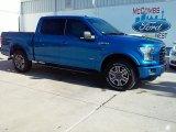 2016 Blue Flame Ford F150 XLT SuperCrew 4x4 #110839112
