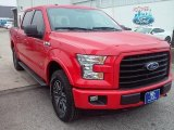 2016 Race Red Ford F150 XLT SuperCrew 4x4 #110839111