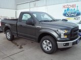 2016 Magnetic Ford F150 XL Regular Cab #110839100