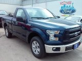 2016 Blue Jeans Ford F150 XL Regular Cab #110839099