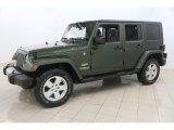 2008 Jeep Wrangler Unlimited Jeep Green Metallic