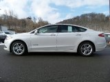 2016 White Platinum Tri-Coat Metallic Ford Fusion Hybrid SE #110839305