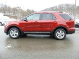 2016 Ruby Red Metallic Tri-Coat Ford Explorer XLT 4WD #110839302