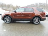 2016 Bronze Fire Metallic Ford Explorer Sport 4WD #110839300