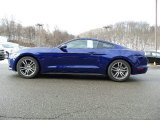 2016 Deep Impact Blue Metallic Ford Mustang EcoBoost Coupe #110839299