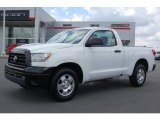 2007 Super White Toyota Tundra Regular Cab #11051307