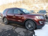 2016 Bronze Fire Metallic Ford Explorer Sport 4WD #110872963