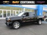 2016 Black Chevrolet Silverado 1500 LT Crew Cab 4x4 #110872895