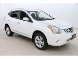 2013 Pearl White Nissan Rogue SV AWD #110873176