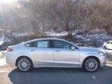 2016 Ingot Silver Metallic Ford Fusion SE AWD #110911436