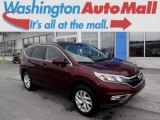 2015 Basque Red Pearl II Honda CR-V EX AWD #110911459