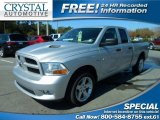 2012 Bright Silver Metallic Dodge Ram 1500 ST Quad Cab #110911699
