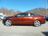 2016 Bronze Fire Metallic Ford Fusion SE #110971145