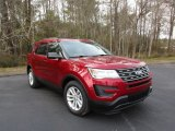 2016 Ruby Red Metallic Tri-Coat Ford Explorer FWD #110971236