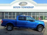 2015 Blue Flame Metallic Ford F150 XLT SuperCrew 4x4 #110971159
