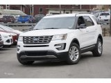 2016 Oxford White Ford Explorer XLT #110988361