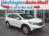 2014 White Diamond Pearl Honda CR-V EX AWD #110988325