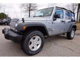 2016 Billet Silver Metallic Jeep Wrangler Unlimited Sport 4x4 #111010431
