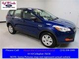 2016 Deep Impact Blue Metallic Ford Escape S #111010344
