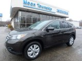 2013 Kona Coffee Metallic Honda CR-V EX AWD #111034486
