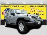 2016 Billet Silver Metallic Jeep Wrangler Unlimited Sport 4x4 #111034359