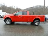 2016 Race Red Ford F150 Lariat SuperCab 4x4 #111034478