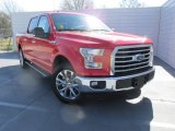 2016 Race Red Ford F150 XLT SuperCrew #111034526