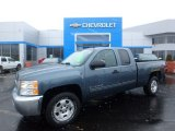 Blue Granite Metallic Chevrolet Silverado 1500 in 2013
