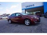 2016 Butte Red Metallic Chevrolet Malibu LS #111034555