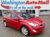 2013 Red Hyundai Elantra Limited #111034432