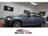 2003 Steel Blue Metallic BMW 3 Series 330xi Sedan #111034321