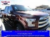 2016 Bronze Fire Ford F150 Lariat SuperCrew 4x4 #111066055